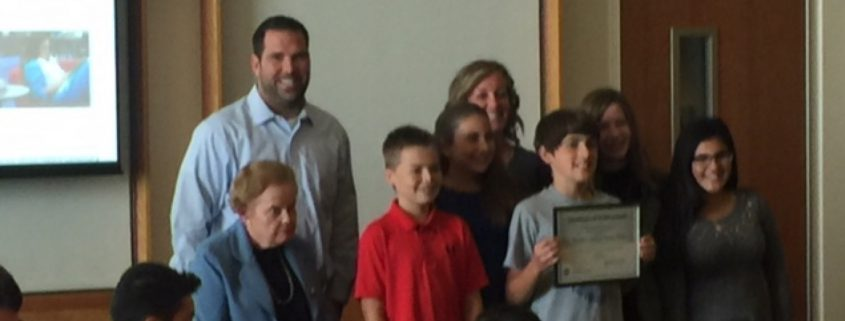 Middle School North Award